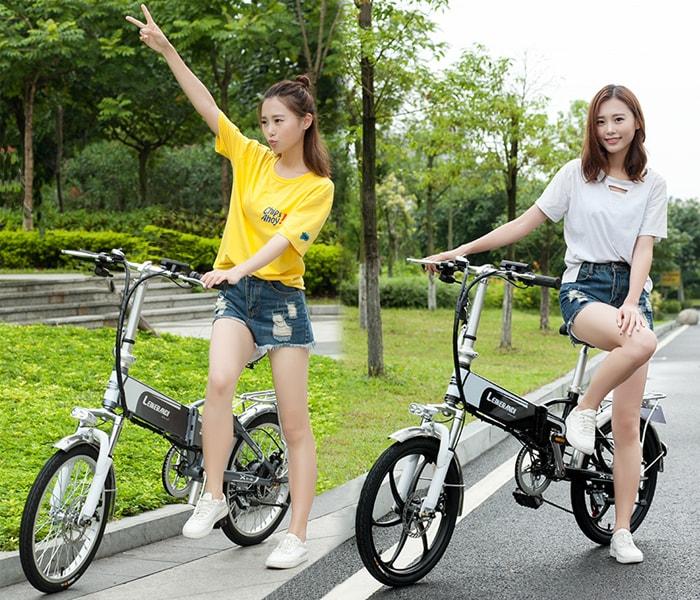 Xe đạp điện và những lợi ích thú vị