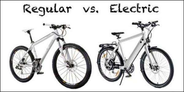 So sánh sự khác biệt giữa xe đạp điện và xe đạp thường