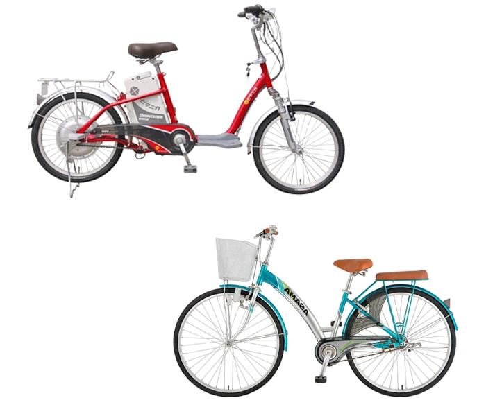 So sánh xe đạp thường và xe đạp điện