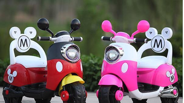 tiêu chí lựa chọn xe máy điện trẻ em