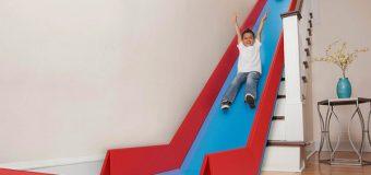 Cách tự làm cầu trượt cho bé cực đơn giản
